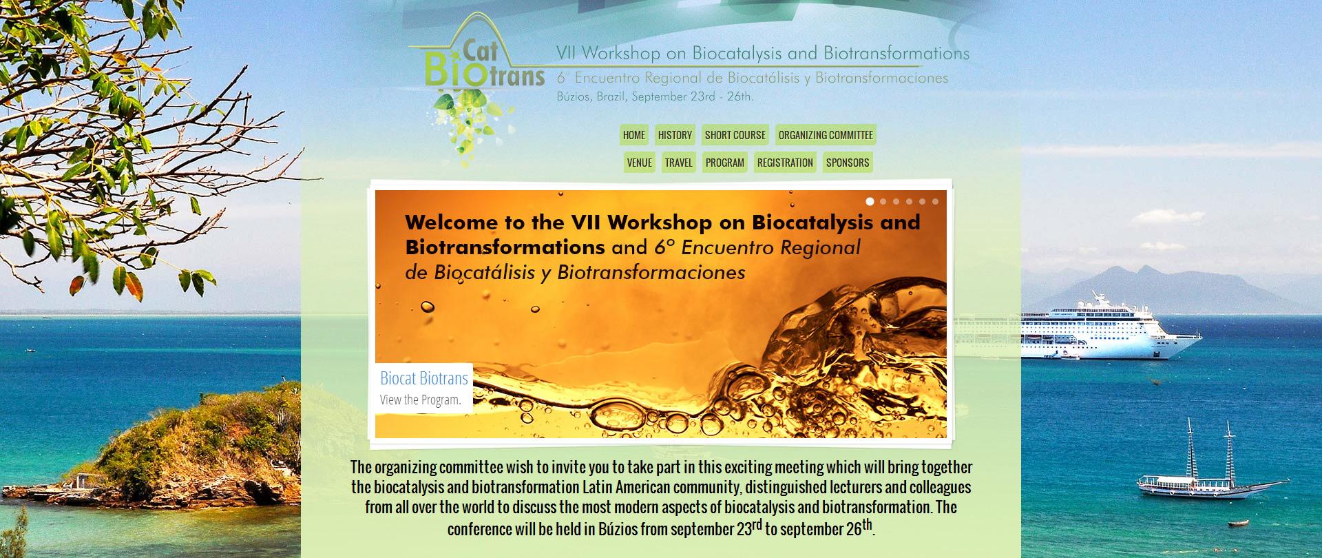 Manutenção site BiocatBiotrans