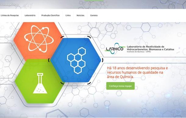Criação de sites Lab LARHCO